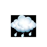 slaba kiša